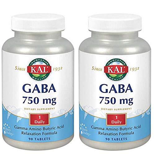 KAL - Gaba 750 mg 90 comprimidos - Pack 2 und.