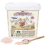 Nortembio Sal Rosa del Himalaya 6,3 Kg. Fina (1-2 mm). Sal Gourmet 100% Natural. Rica en Minerales....