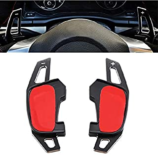 Maple leave Steering Wheel Shift Paddle For VW Golf 7 MK7 GTI(black)