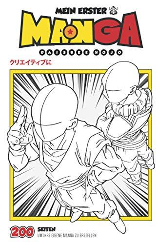 Mein erster Manga: Leerer Manga von 200 Zeichenbrettern | Kreieren Sie Ihren eigenen Manga für alle Altersgruppen | Buch für Kreative im Manga-Format