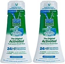 Smart Mouth Mouthwash, Fresh Mint - 16 oz - 2 pk