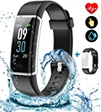 SONIXO 2021 High-End Fitness Trackers-Activity Trackers Health <span class='highlight'>Exercise</span> Watch with Heart Rate and Sleep Monitor, Smart Watch, Step Counter Calorie Counter, Pedometer Walking for Women Kids Men