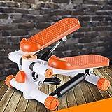 Multifunción Pérdida de Peso de la casa Free Stepper Fitness Cintura Delgada Máquina de Jogging Ellíptica Jarvis Little Shop (Color : Orange 1)