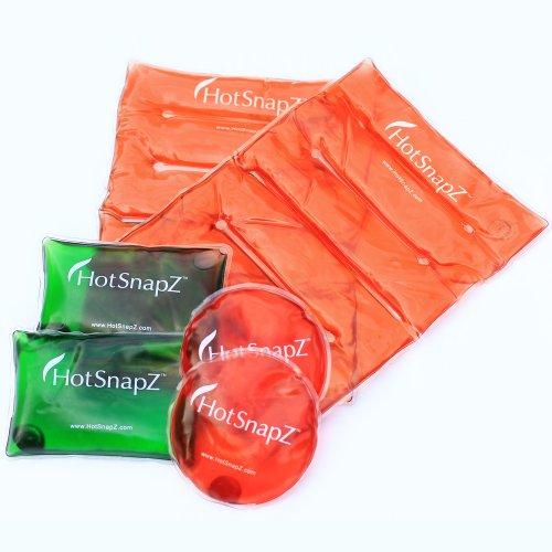 HotSnapZ Reusable Hand Warmers & Body Warmers - Instant Heat Packs
