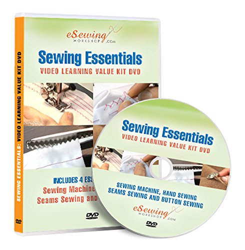 Sewing Essentials 4 in 1 Value Kit - Video Lesson on DVD