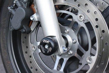 Satz GSG Moto Sturzpads Vorderrad passend für die Honda CB 600 Hornet PC34 PC36 98-06