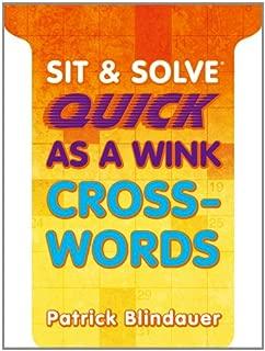 Sit & Solve® Quick as a Wink Crosswords (Sit & Solve® Series)