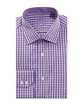 English Laundry Men's 100% Cotton Classic Fit Long Sleeve Dress Shirt