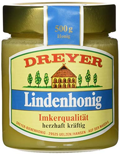 Dreyer Lindenhonig, 5er Pack (5 x 500 g)