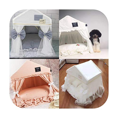 Petsupplies With The Same Ins Sweet Cute Doll Bed Pet Kennel