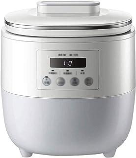 SJYDQ Machine de yogourt |BPA sans Conteneurs et Couvercles |Idéal for Bio, Sucré, sans Sucre ou sans Sucre Aliments for b...