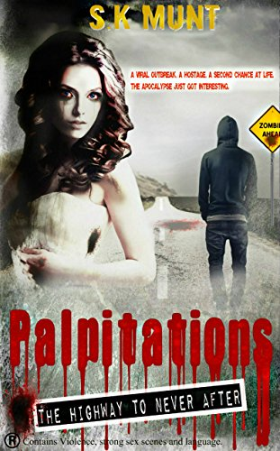 Palpitations: Surviving The Zombie Apocalypse Road Trip (The Highway To Never After Book 1) by [S.K Munt]