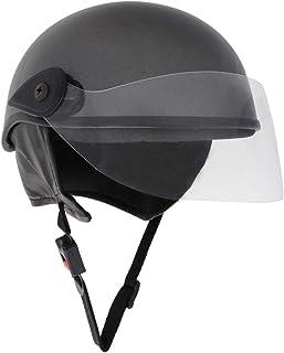 Sage Square Scooty Half Helmet for Men, Women (Grey Glossy, Medium)