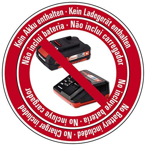 Einhell Akku-Handkreissäge TE-CS 18/165 Li-Solo Power X-Change (Li-Ion, max. Schnitttiefe 54mm, werkzeuglose Einstellung von Schnitttiefe + Neigungswinkel, Spindelarretierung, ohne Akku und Ladegerät) - 3