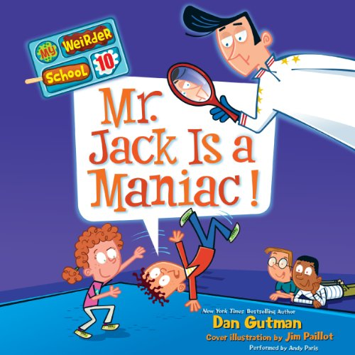 Mr. Jack Is a Maniac! audiobook cover art
