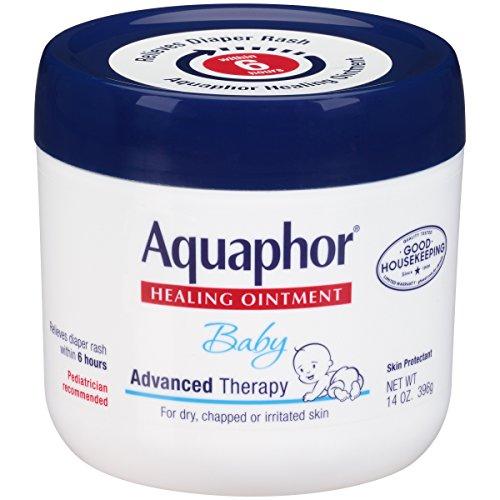 Aquaphor Lot de 2 pommades de guérison pour bébé Thérapie avancée Pot de 396,9 g