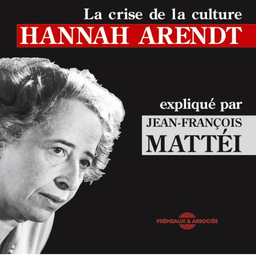 Hannah Arendt audiobook cover art