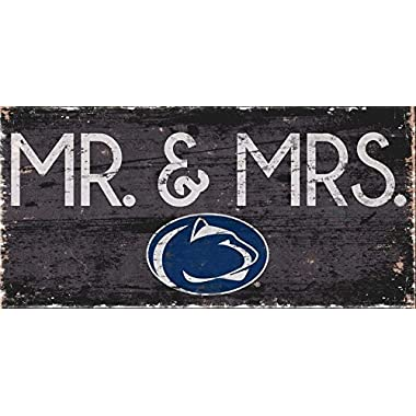 Fan Creations Penn State University Mrs Sign, Multi