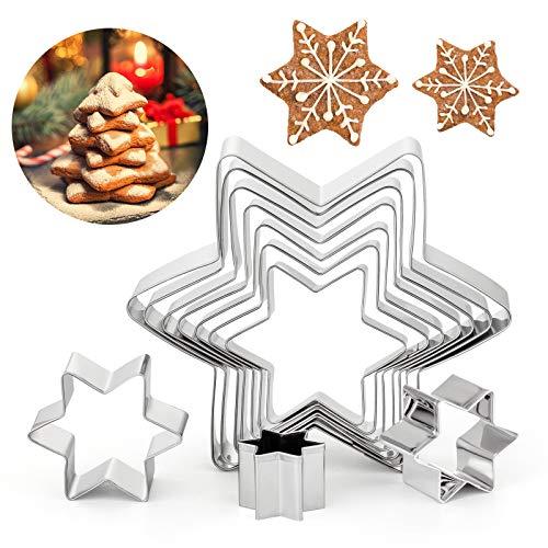 GWHOLE Lot de 12 Emporte-pièces Rond 3-12cm en Acier Inoxydable pour Biscuits Fondant Donuts Pâte Muffins Gâteaux