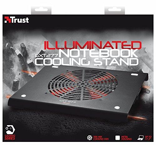Trust GXT 277 Notebook-Kühlständer schwarz