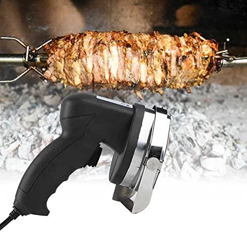 NWYJR Cortador Eléctrico De Kebab,Kebab Cortador Cortador de Teclado eléctrico Kebab Carne rebanadora Profesional de Kebab eléctrico para Cordero, Cerdo y Pollo