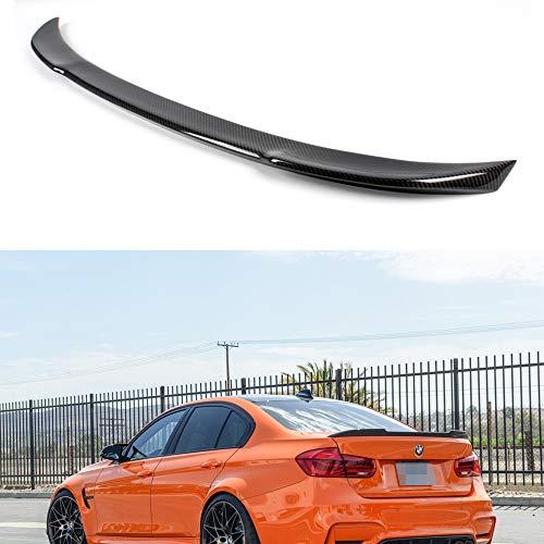 Mosion Auto F30 F80 M3 Carbon Fiber Trunk Spoiler for BMW 3-Series F30 320i 325i 328i F80 M3 12-17 (CS)