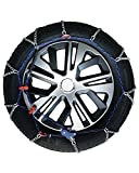 Snow Chains for Car Tyres 225/50-16 R16 Ultra Thin, 7 mm, Approved