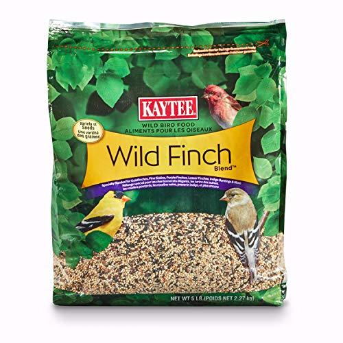 Kaytee Wild Finch Blend Stand Up Bird Food, 5lb