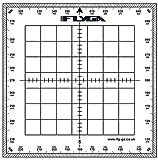 Rapporteur de navigation de carte (carré) – Pour les pilotes d'aviation LAPL, PPL(A), PPL(H) et CPL + capitaines de bateau, nautique et voilier.