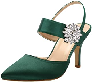 78ca9740c3436 Amazon.com: Green - Pumps / Shoes: Clothing, Shoes & Jewelry