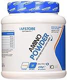 Iafstore Supplements Amino Powder integratore di aminoacidi ramificati in rapporto 4:1:1 con aggiunta di Taurina, L-Glutammina, L-Ornitina HCI e Citrullina (Arancia, 250 grammi)