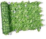GPFFACAI Pantalla de Valla de privacidad de Hiedra Artificial Pantalla de privacidad de jardín al Aire Libre Valla de privacidad de Hoja Verde Valla de jardín Pantalla de balcón Pantalla de cobertu