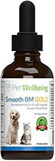 Pet Wellbeing Smooth BM Gold for Cats - Natural Constipation Support for Felines - 2oz (59ml)