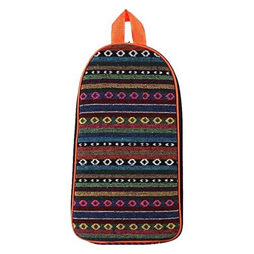 YuuHeeER 1 bolsa de picnic para camping, almacenamiento de cubiertos portátil con cremallera al aire libre
