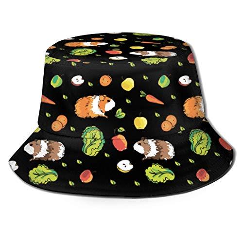 XCNGG Niños Niñas Pescador Bucket para Sombrero de Visera Informal Plegable Sombrero de Cubo