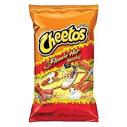 Cheetos Crunchy Flamin' Hot Cheese Snacks, 8.5 oz