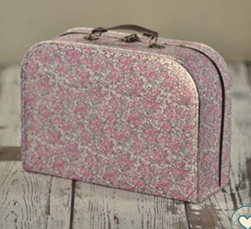 Sass & Belle Large Vintage Floral Suitcase