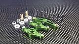 Tamiya TT-02 Upgrade Parts Aluminium Steering Assembly - 1 Set Green