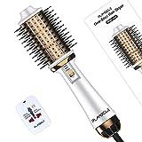 Plavogue One-Step Hair Dryer Brush Volumizer w/ Negative ION, Dual...