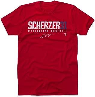 500 LEVEL Max Scherzer Shirt - Washington Baseball Men's Apparel - Max Scherzer Scherzer31