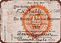 Magician Membership Card 金属板ブリキ看板警告サイン注意サイン表示パネル情報サイン金属安全サイン