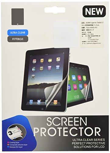 和湘堂 SONY Xperia Tablet Z SO-03E専用10.1インチ 指紋防止 気泡が消える液晶保護フィルム 光沢タイプ クリアーシール「522-0001-01」 …