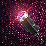 【2 colores】La luz nocturna USB tiene 2 modos de iluminación: rojo y morado. En comparación con la luz de estrella USB con un solo color, esta luz tiene varios colores para elegir, lo que te permite disfrutar de la atmósfera romántica. 【7 efectos de i...