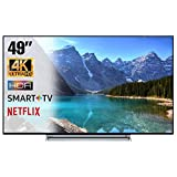 SMART TV 4K 49 Pollici Televisore Ultra HD Toshiba 49V6763DA HDR Cinema Serie Tv Dolby Wi-FI Wlan...