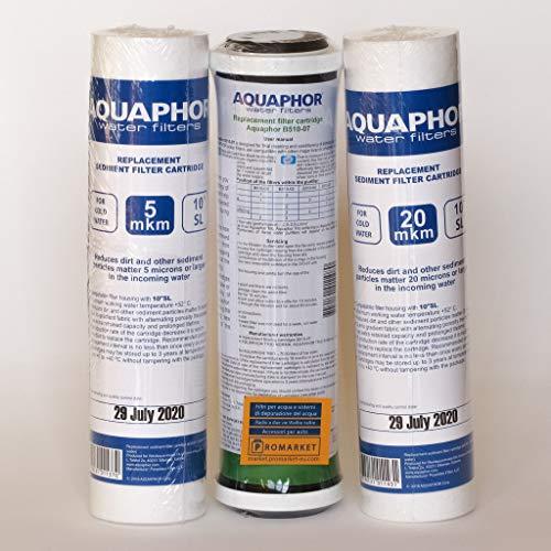 YATEK Filtro de 5 micras de sedimentos de Polipropileno