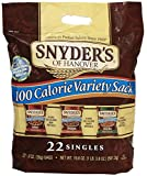 Snyder's of Hanover 100 Calorie Pretzel Tray Pack - Variety Sack - 19.8 oz - 22 ct
