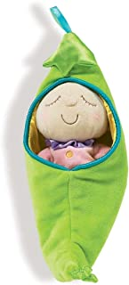 Manhattan Toy Snuggle Pod Sweet Pea First Baby Doll with Cozy Sleep Sack for Ages 6 Months and Up