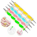 TaoNaisi profesional con 5 herramientas diferentes punzon para grabado (Cada herramienta tiene diferentes tamaños)