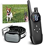 Enrivik Small Dog Shock Collar with Remote - Small Size Dog Training Collar for Small Dogs 5-15lbs - Waterproof & 1000 Feet Range
