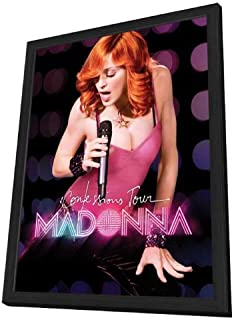 Madonna: The Confessions Tour Live from London - 11 x 17 Framed Movie Poster